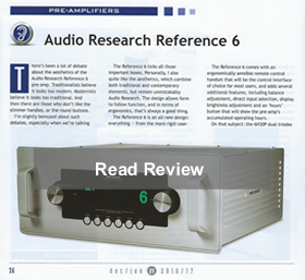 Audio Research Ref6 review