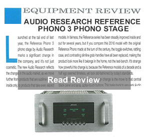 Audio Research Ref PH3 review